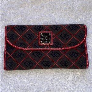 Dooney & Bourke signature wallet